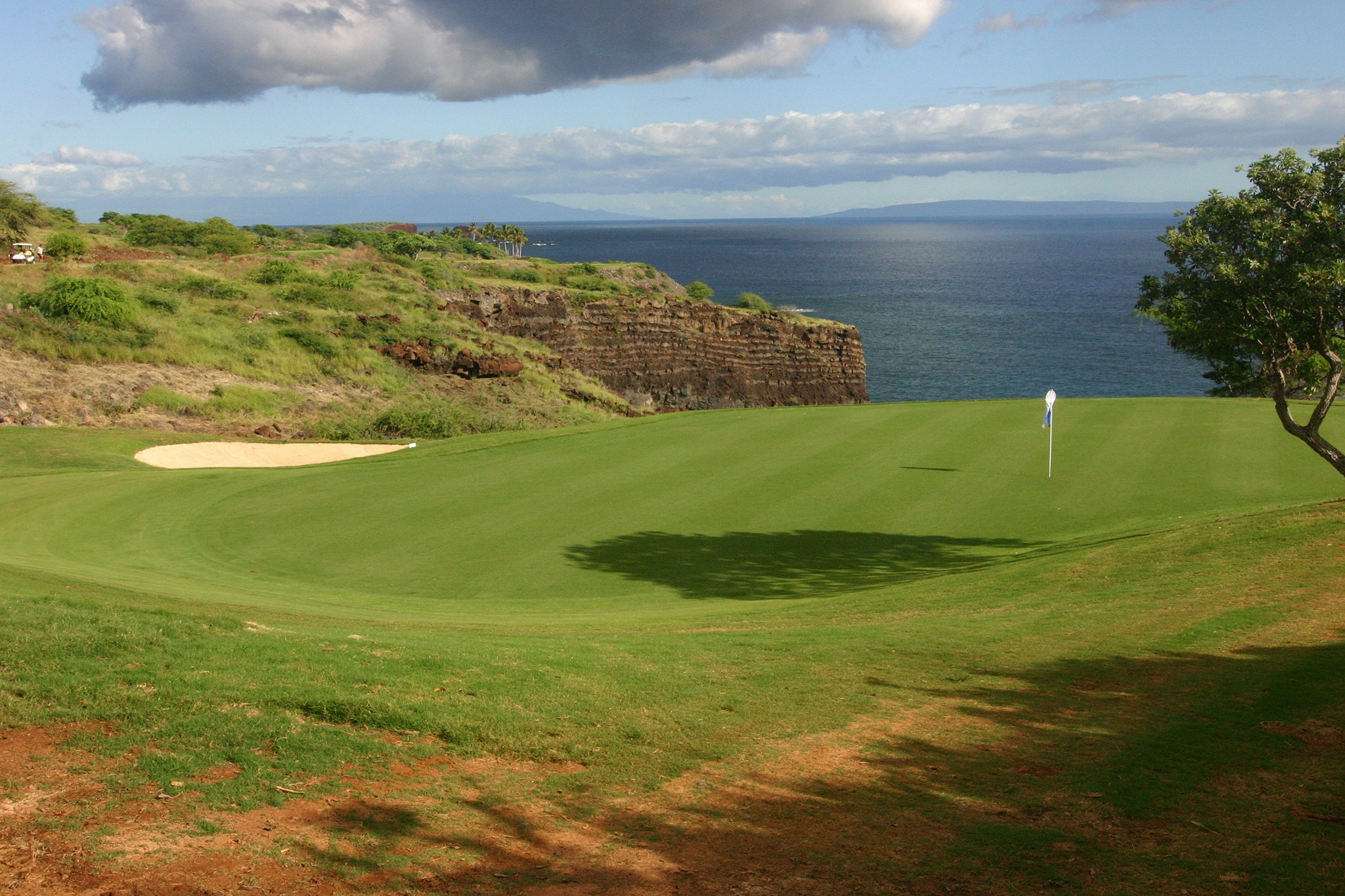 Find a water hazard you can love on Lanai.