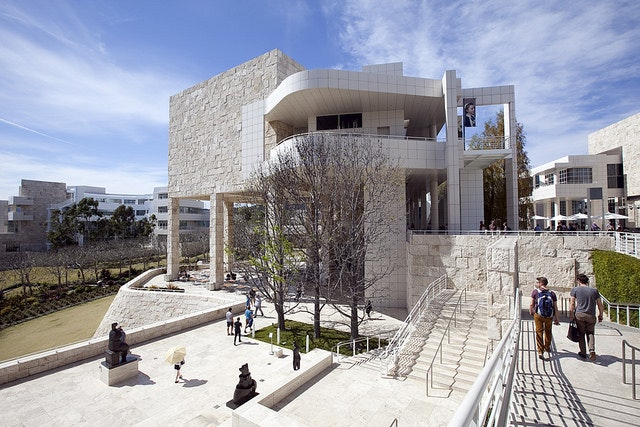 Don't miss the Getty Museum.