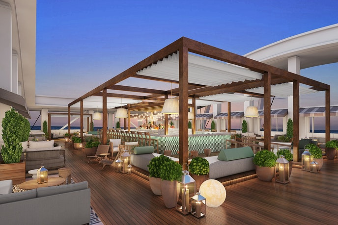 The Skybar opens at the SLS Baha Mar in January.