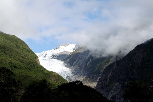 Hiking Franz Josef glacier is the perfect excuse for a helicopter ride