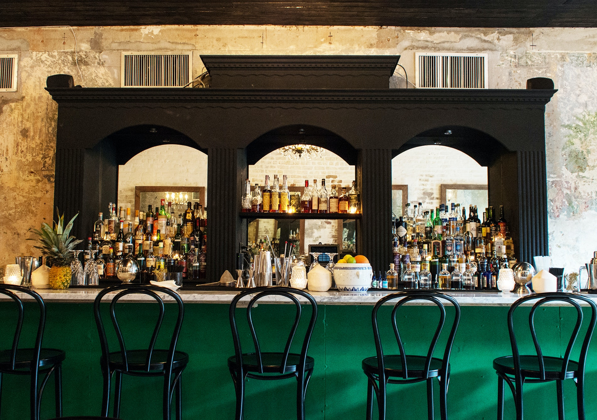 Cane and Table is chef Justin Devillier's go-to bar for rum cocktails and tropical-inspired drinks.