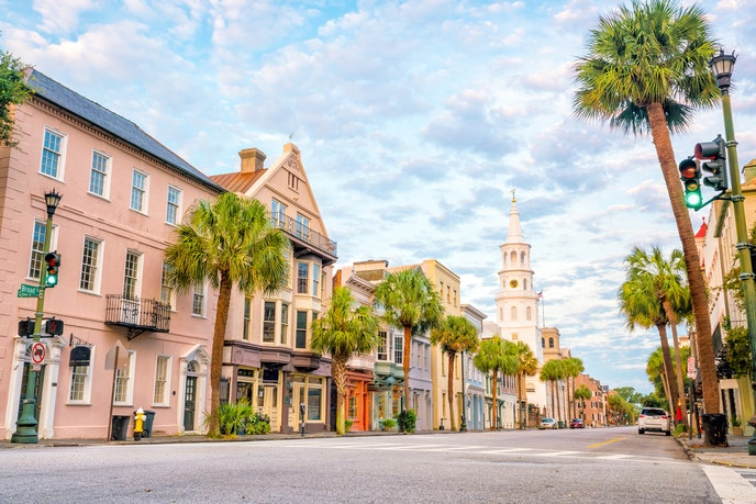 Downtown Charleston has historical architecture—and a whole lotta charm.