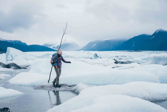 Photo safaris of Knik Glacier are available through Rust's Flying Service.