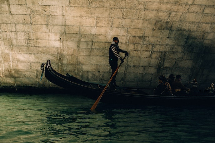 In the past, gondolas were custom built with hundreds of different wooden pieces. Now, however, most gondolas are created with plastic, says one of Venice's master gondola makers.