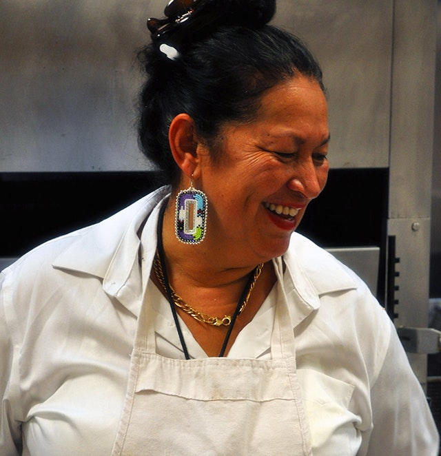 Chef Sherry Pocknett of The Pequot Café