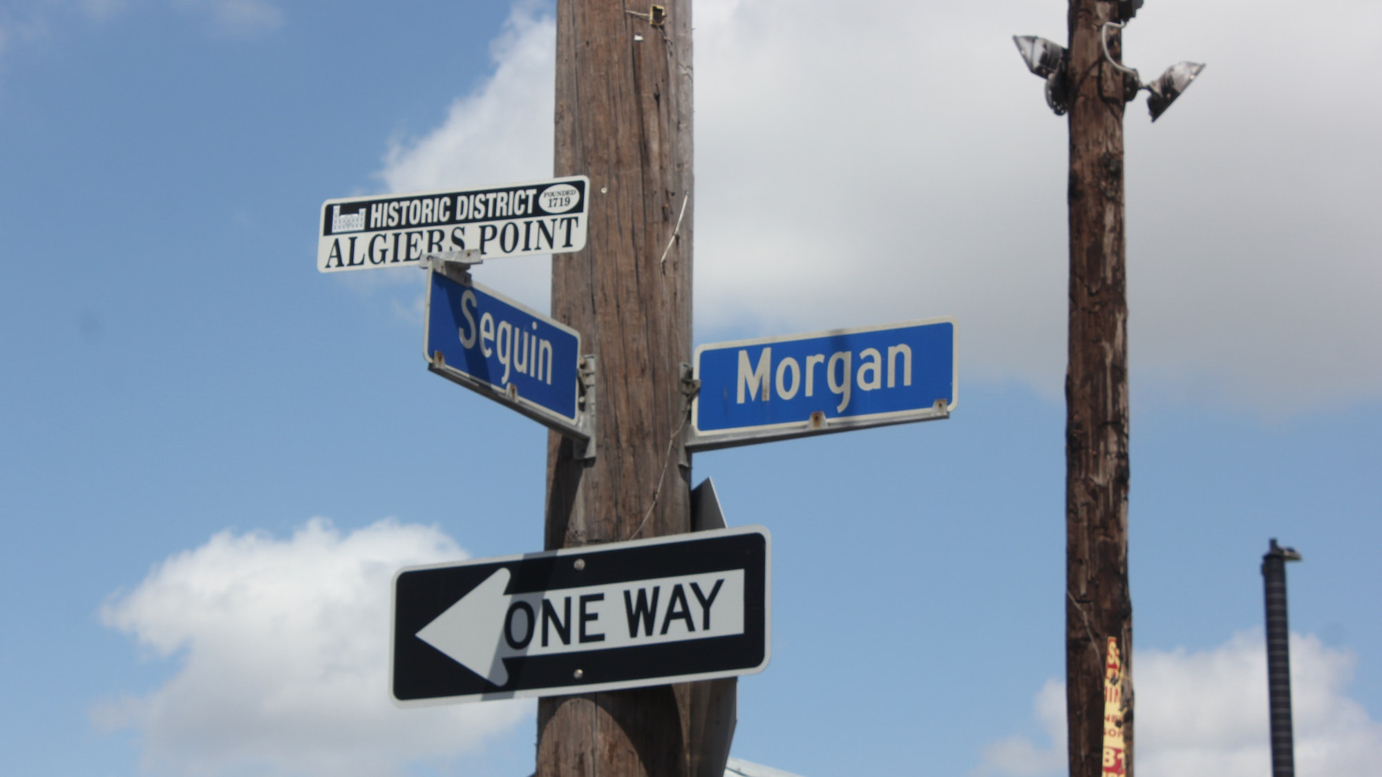 Algiers Point in New Orleans was founded in 1719.