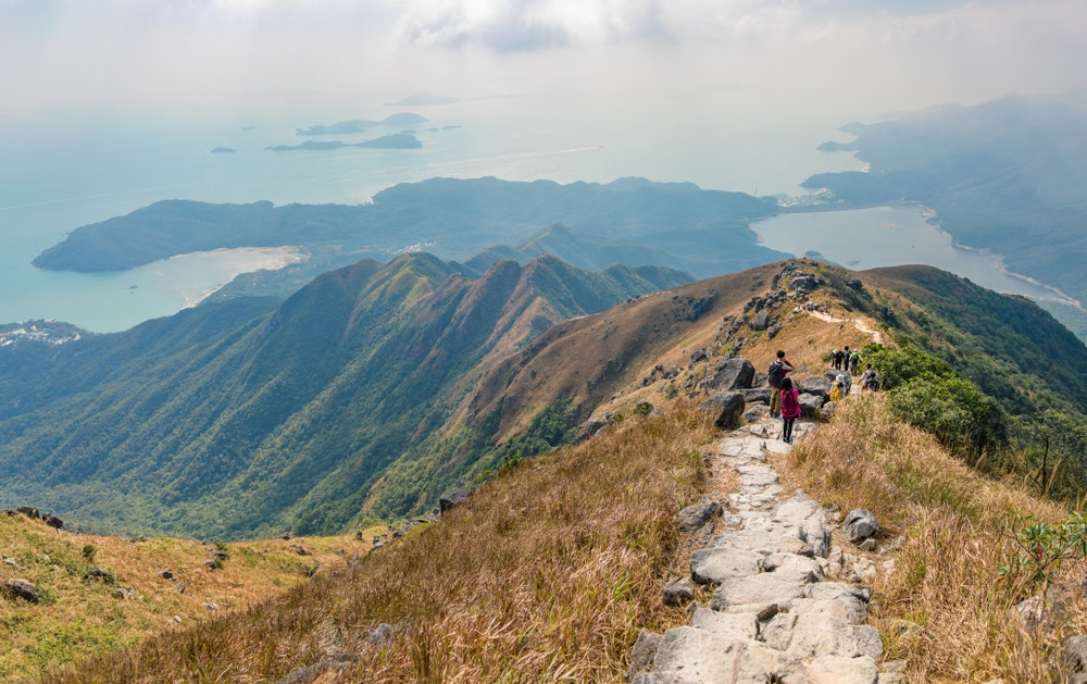 Another way to escape city life in HK? Hike or swim on the Sai Kung Peninsula.