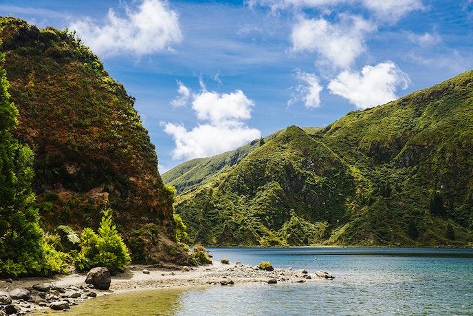The Azores, a nine-island Portuguese archipelago, is home to hiking trails, newly renovated accommodations, and lots of vineyards.