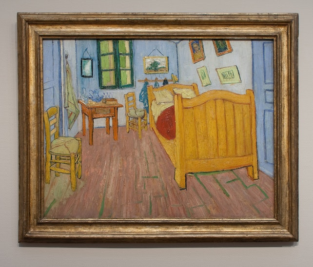 Van Gogh's Bedroom painting