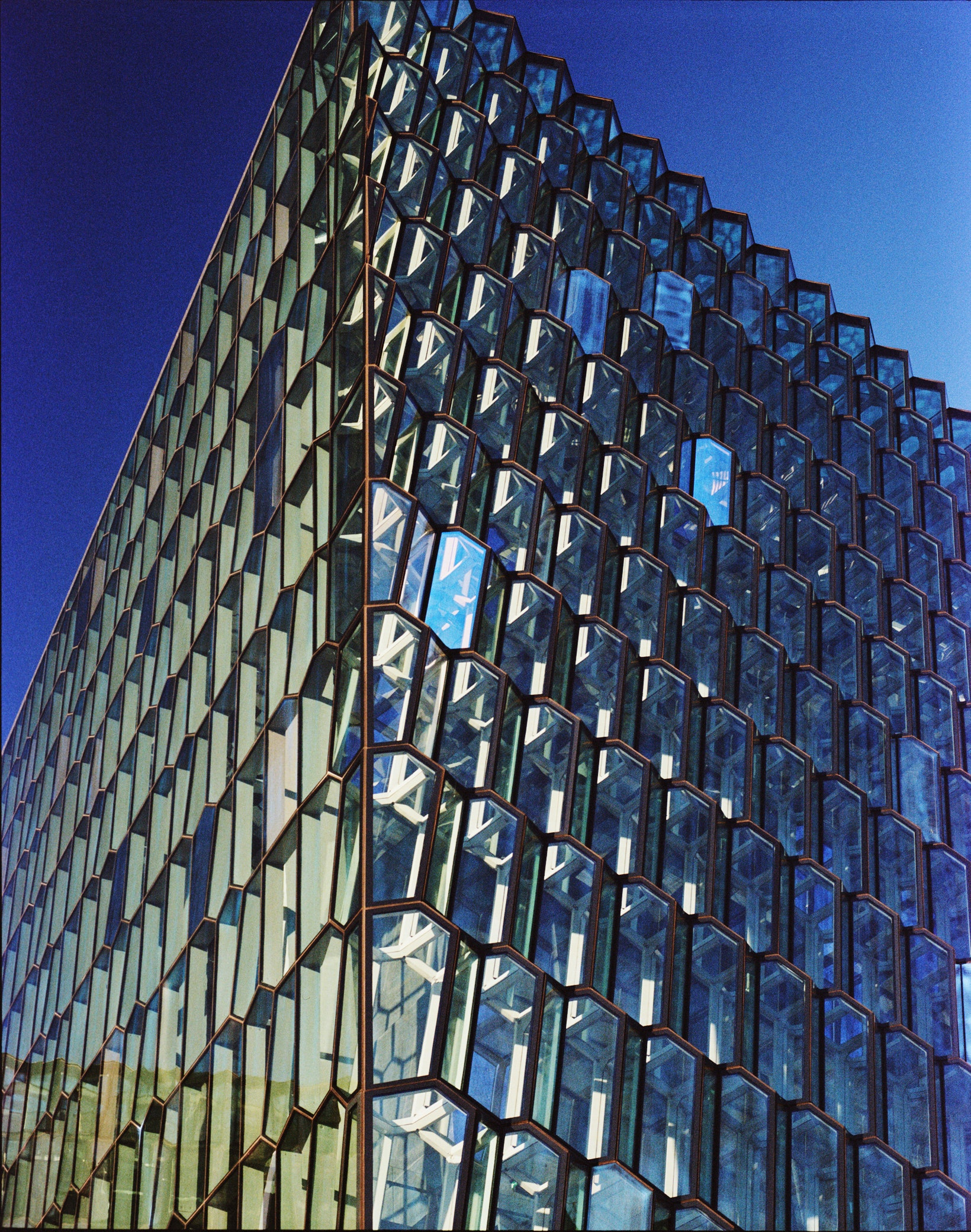 Danish-Icelandic artist Olafur Eliasson collaborated on the design of Reykjavík's Harpa concert hall.