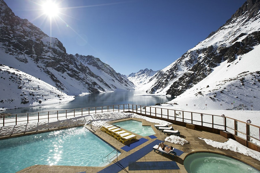 Ski Portillo is host to myriad facilities and activities (aside from skiing, of course) including: fitness centers, game rooms, the famous Portillo bar, and more.