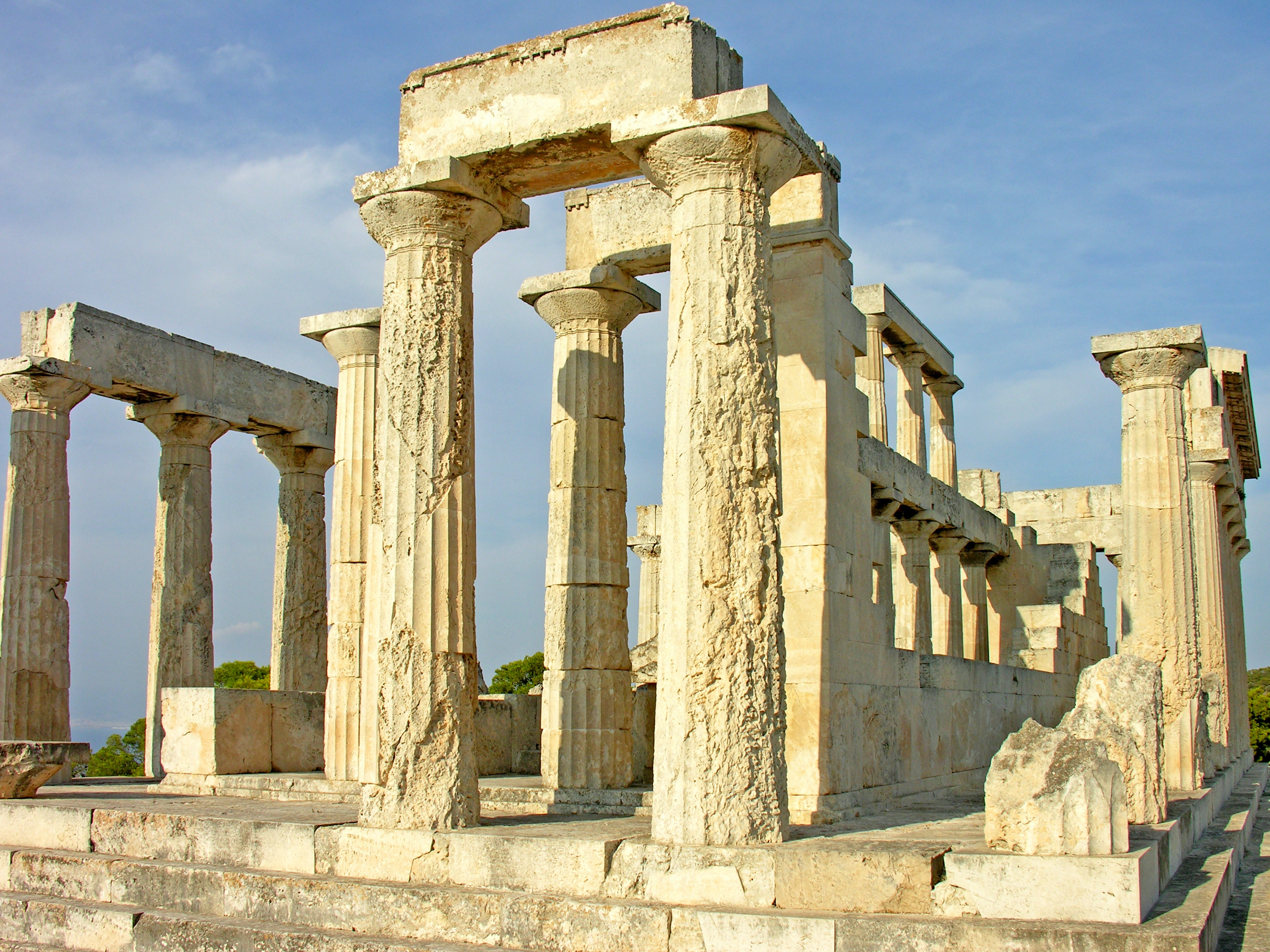 The Temple of Aphaia in Greece was built nearly 3,000 years ago.