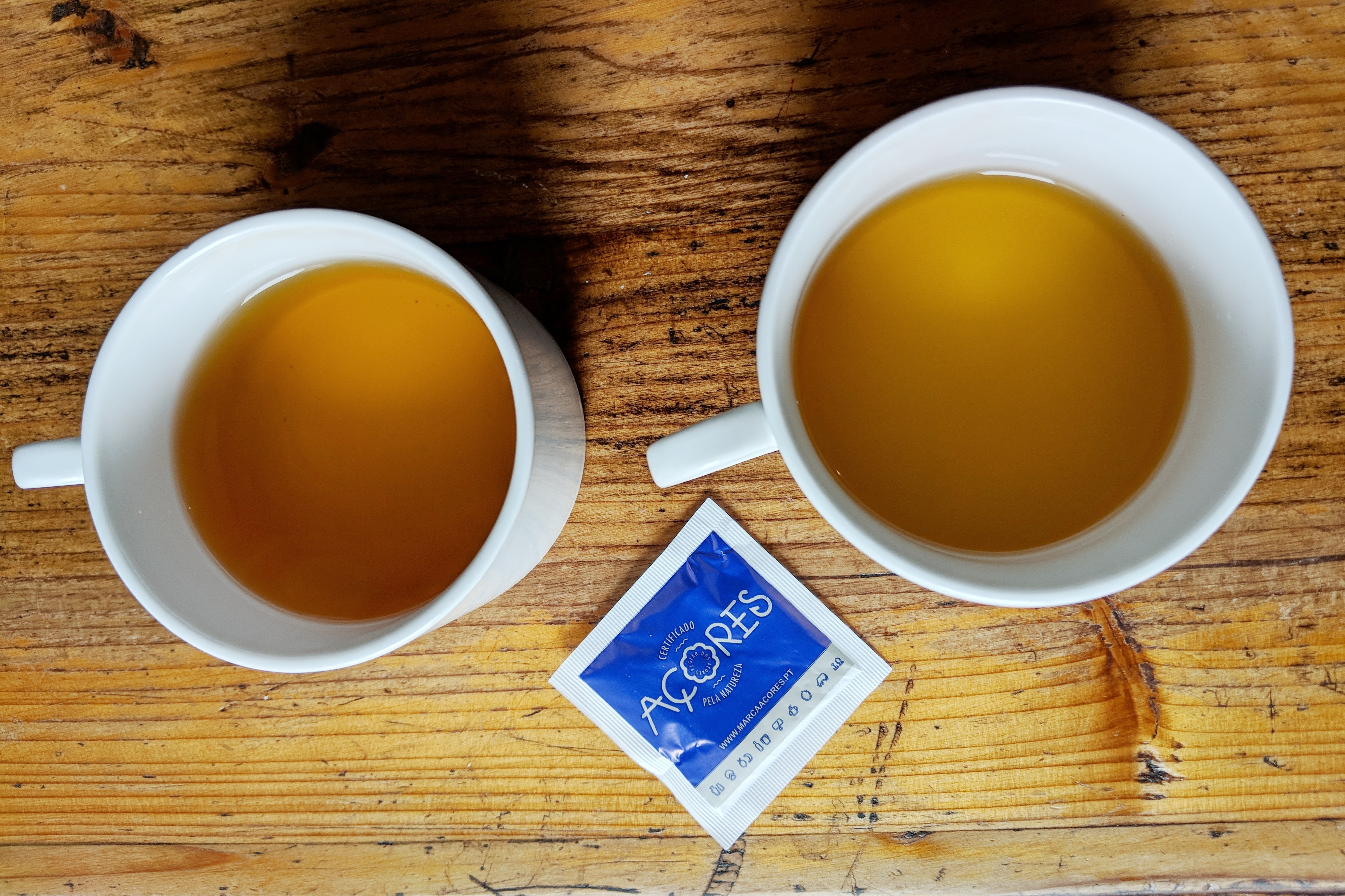 Chá Gorreana makes green tea and black tea (and you can try both when you visit).