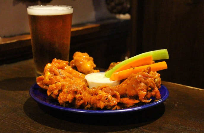 The wings at Gabriel's Gate are arguably the best in Buffalo.