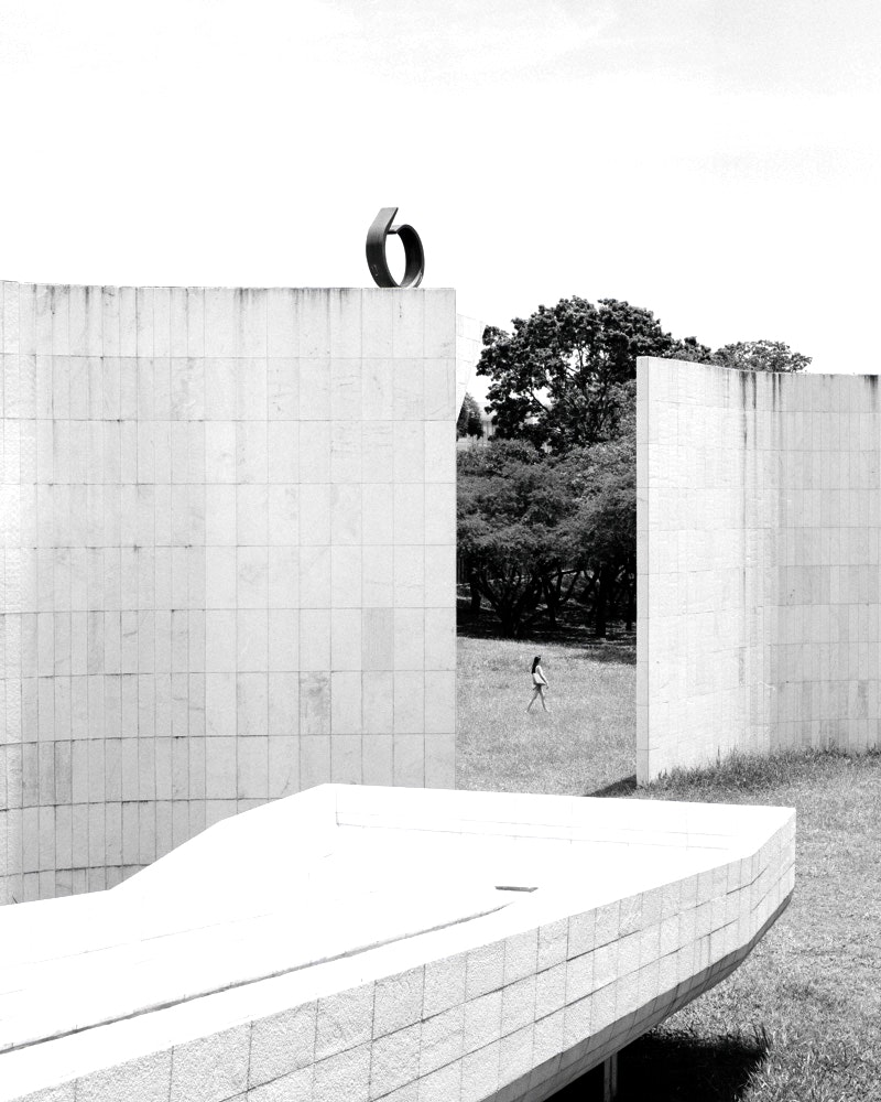 The Tancredo Neves Pantheon monument was built in honor of Tancredo Neves, the first elected prime minister of Brazil after decades of military dictatorship.