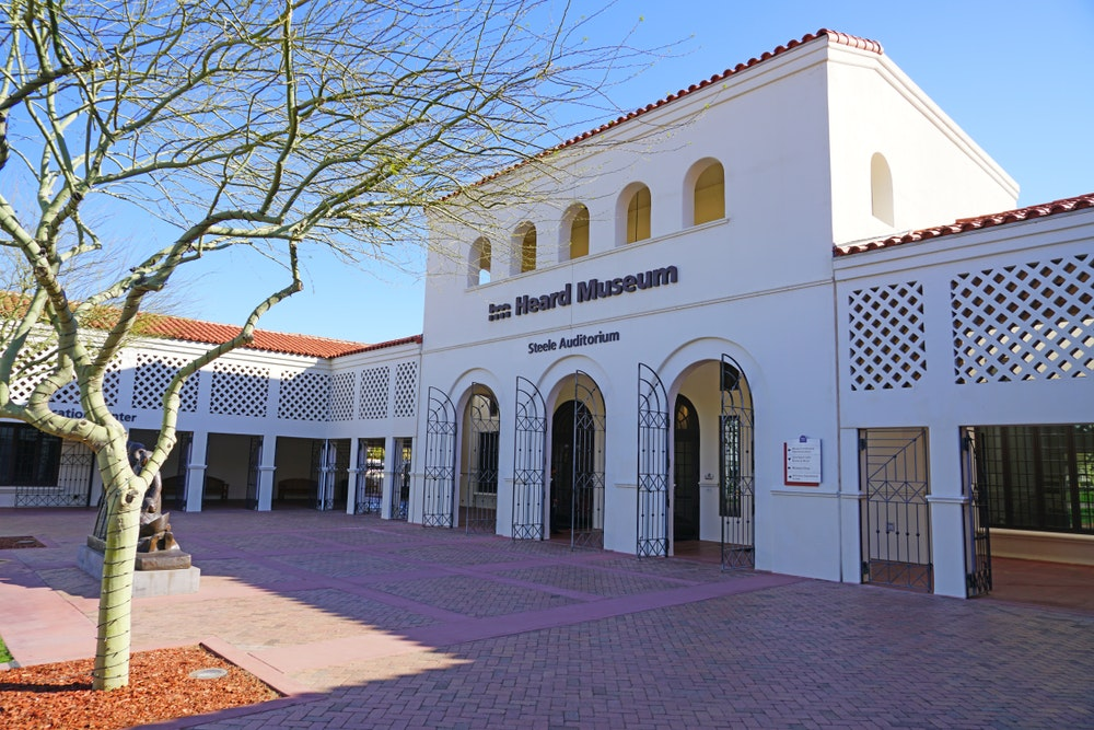 The Heard Museum is dedicated to advancing American Indian art.