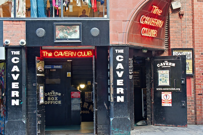 The original Cavern Club in Liverpool closed in 1973, but the music cellar has since reopened across the street.
