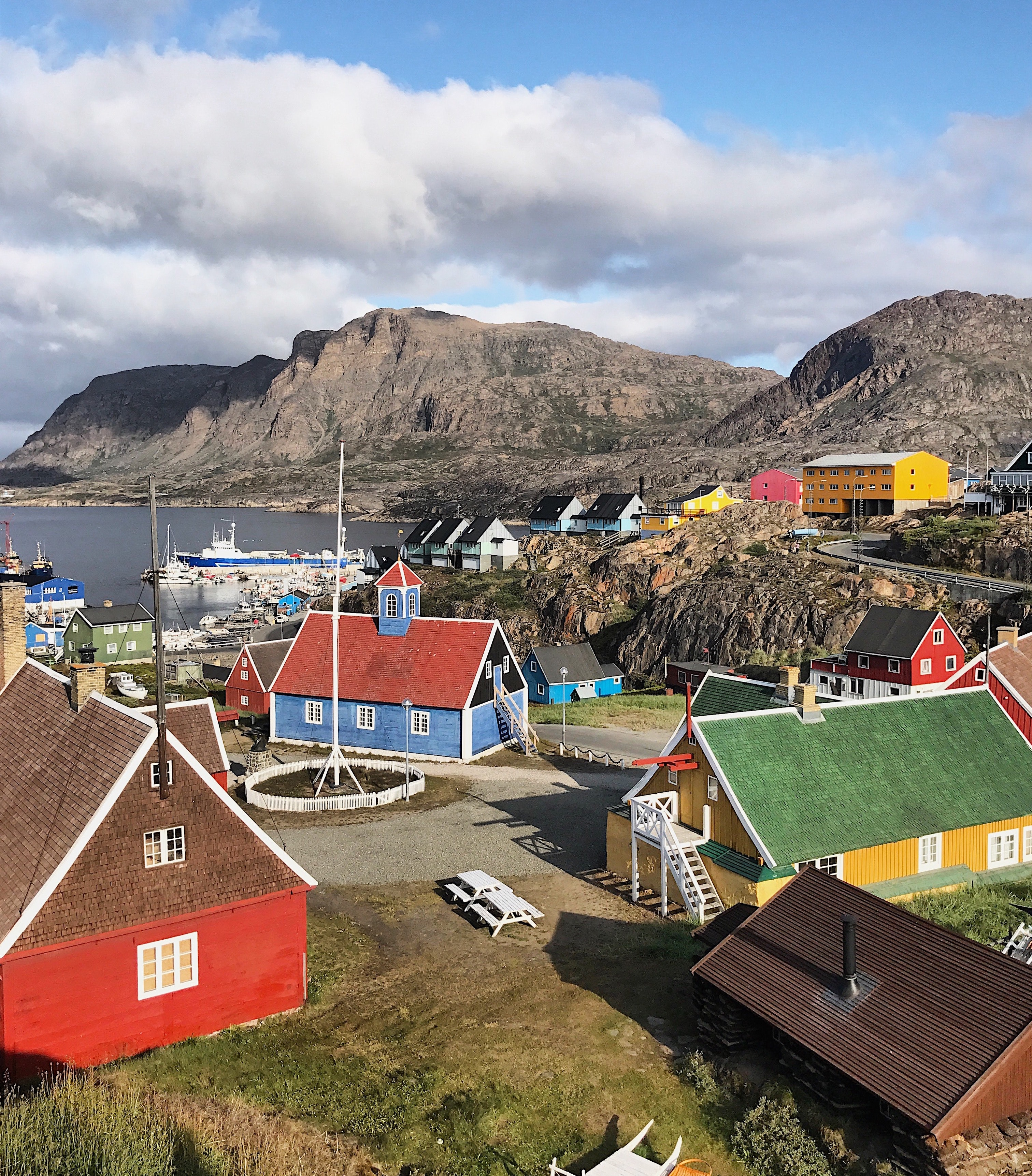 Homes in Sisimiut, Greenland