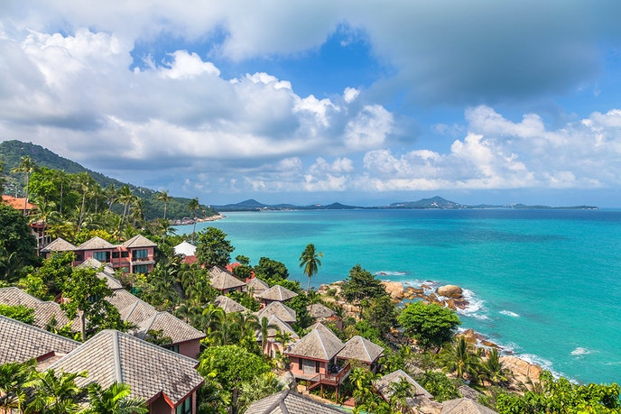 Koh Samui is the island to hit if you're in search of five-star luxury, with resorts like Six Senses Samui, Four Seasons Koh Samui, and the W Koh Samui.