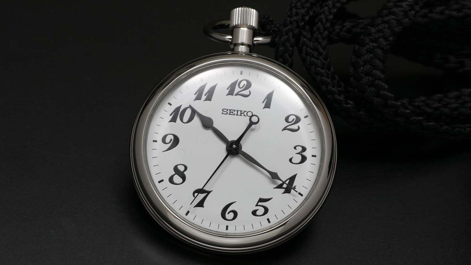 Watchmaker Seiko has been providing precise mechanical timepieces to Japanese railway conductors since 1929.