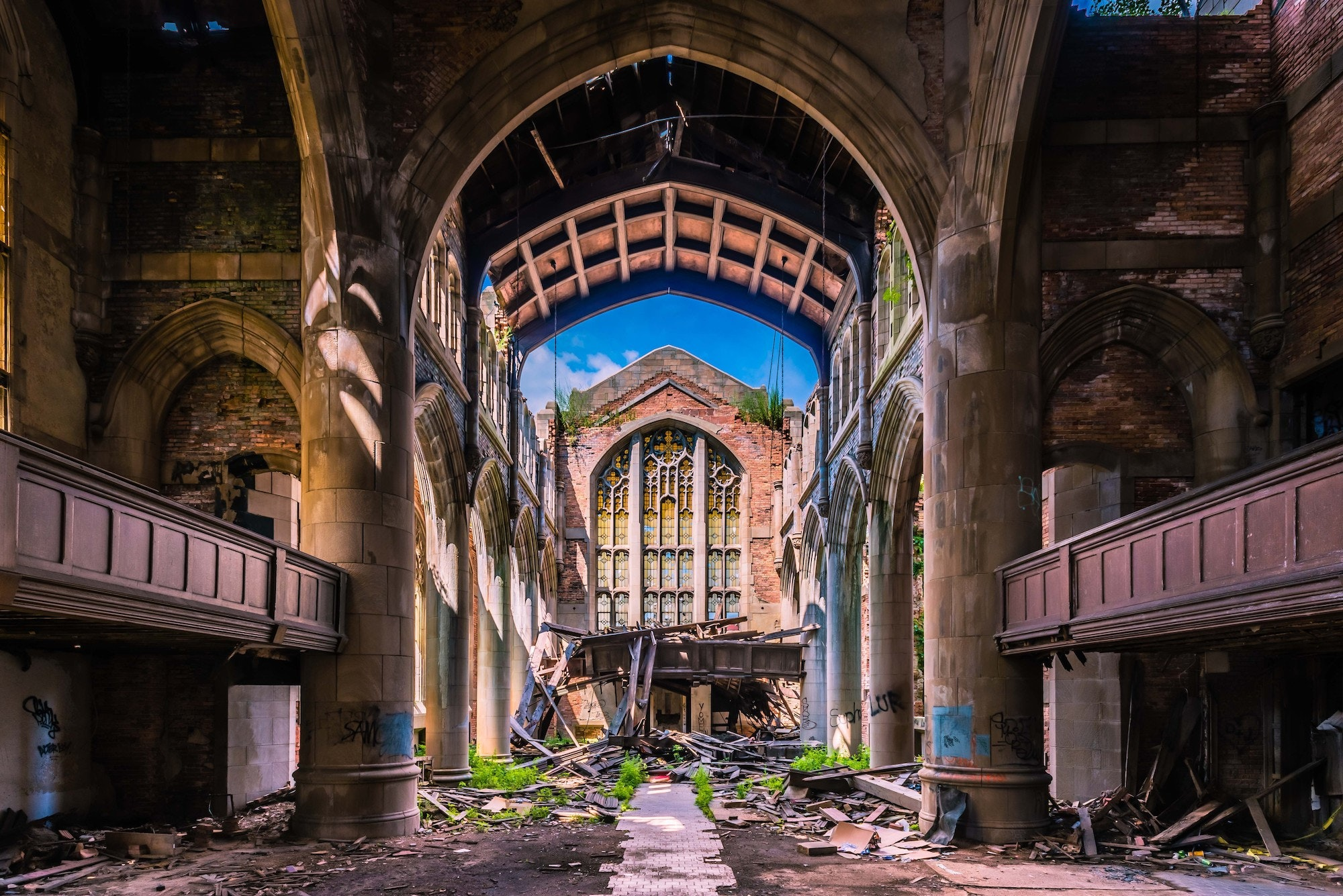 """City Methodist Church has appeared on the big screen in movies such as """"Nightmare on Elm Street"""" and """"Pearl Harbor."""""""