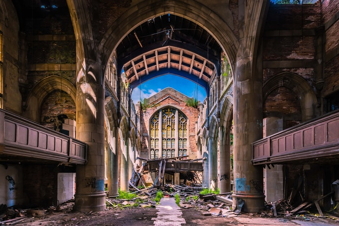 "City Methodist Church has appeared on the big screen in movies such as ""Nightmare on Elm Street"" and ""Pearl Harbor."""