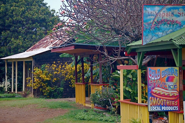 The town of Hawi