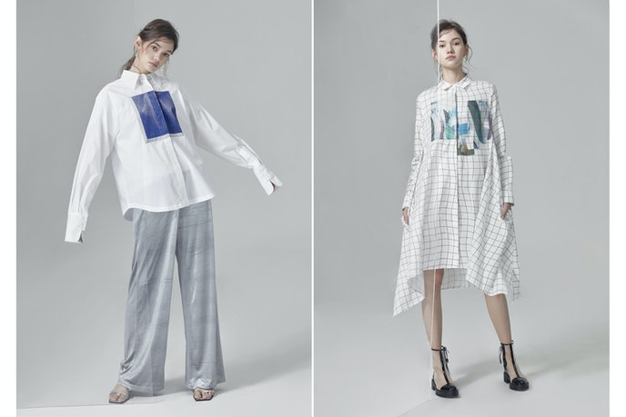 """Meng's fashion line is called KSIEZYC, which is Polish for """"moon,"""" a play on the translation of Meng's given name."""