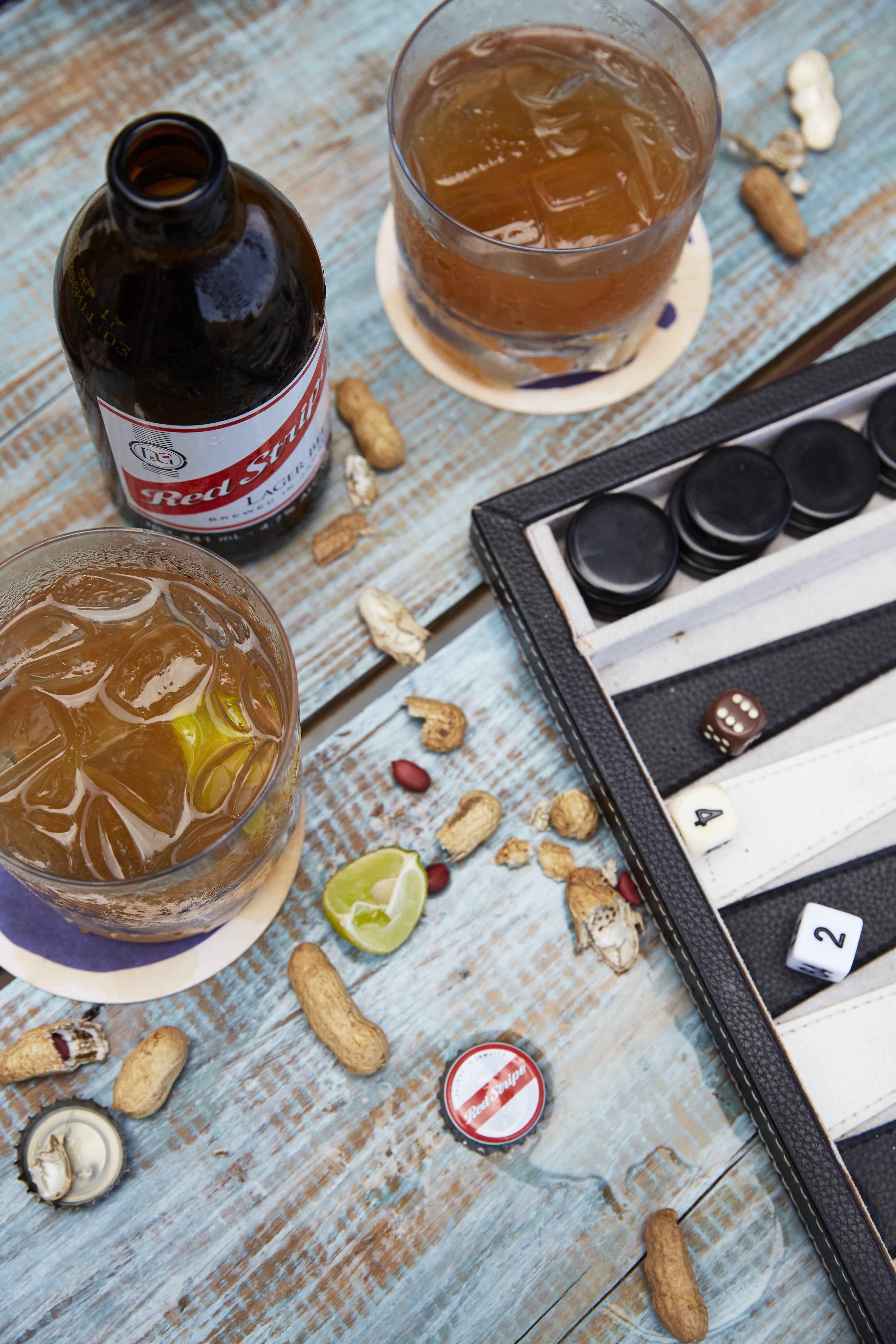 Any stay at Goldeneye should include backgammon and a Red Stripe or rum punch.