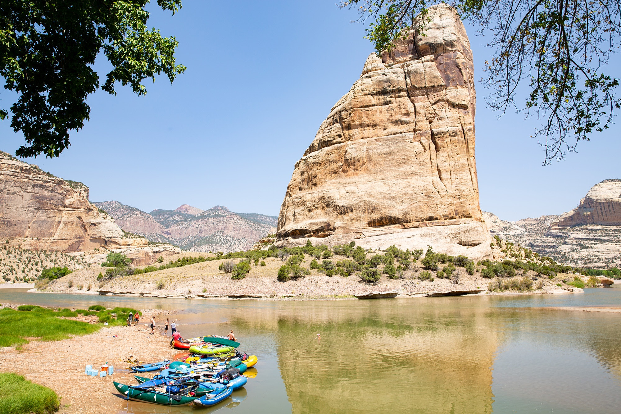 So much more than dinosaur bones, Dinosaur National Monument is a great place to swim and kayak.