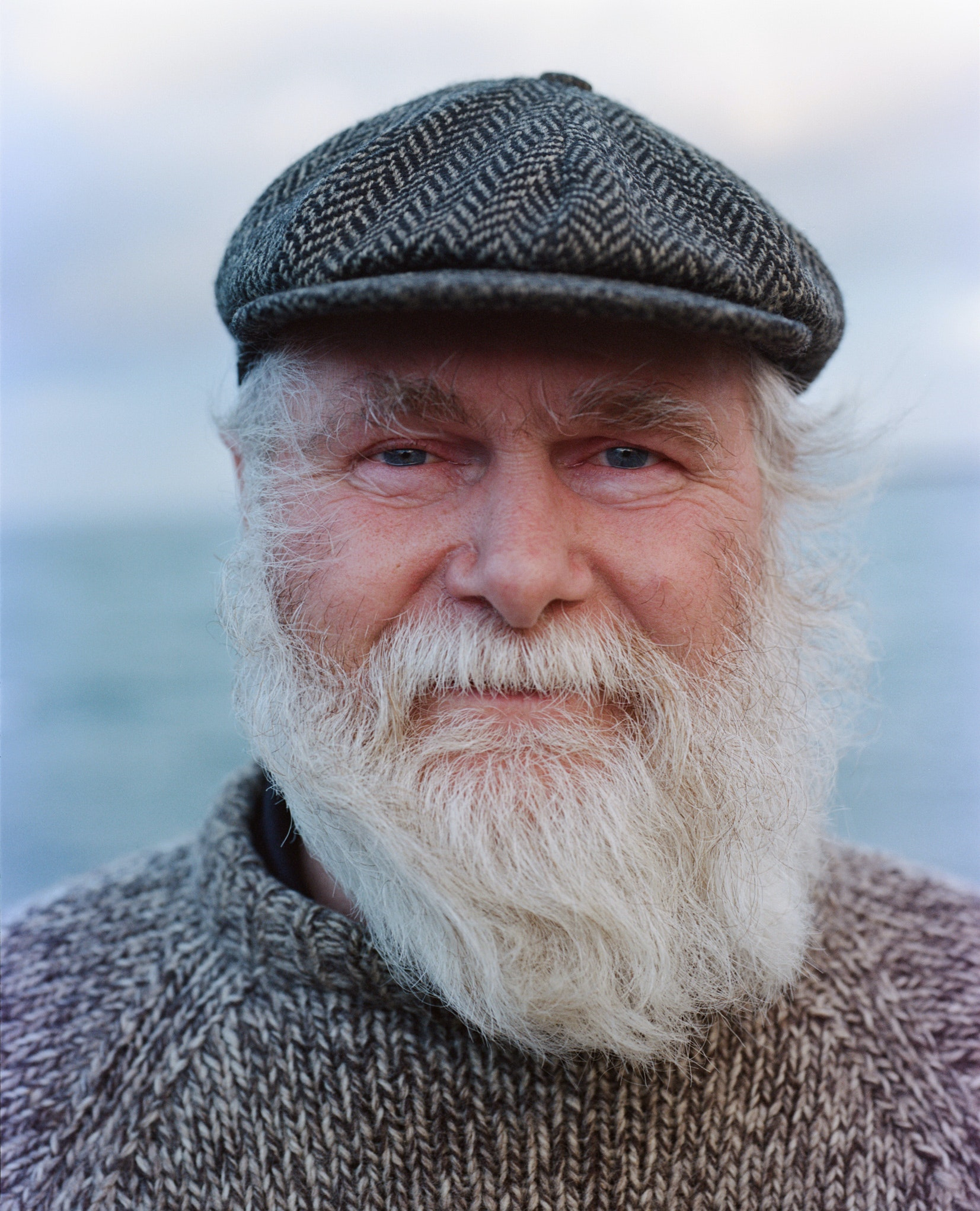 Simon Duur, a retired fisherman from the western coast of Iceland.