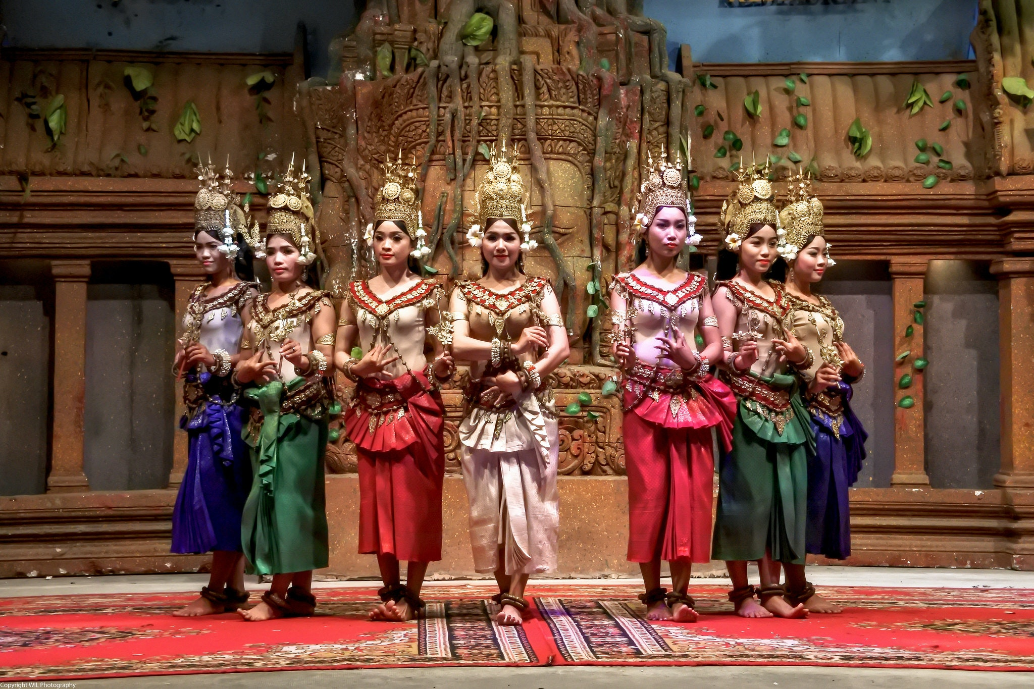 Apsara dancers in Siem Reap. Photo by WIL.