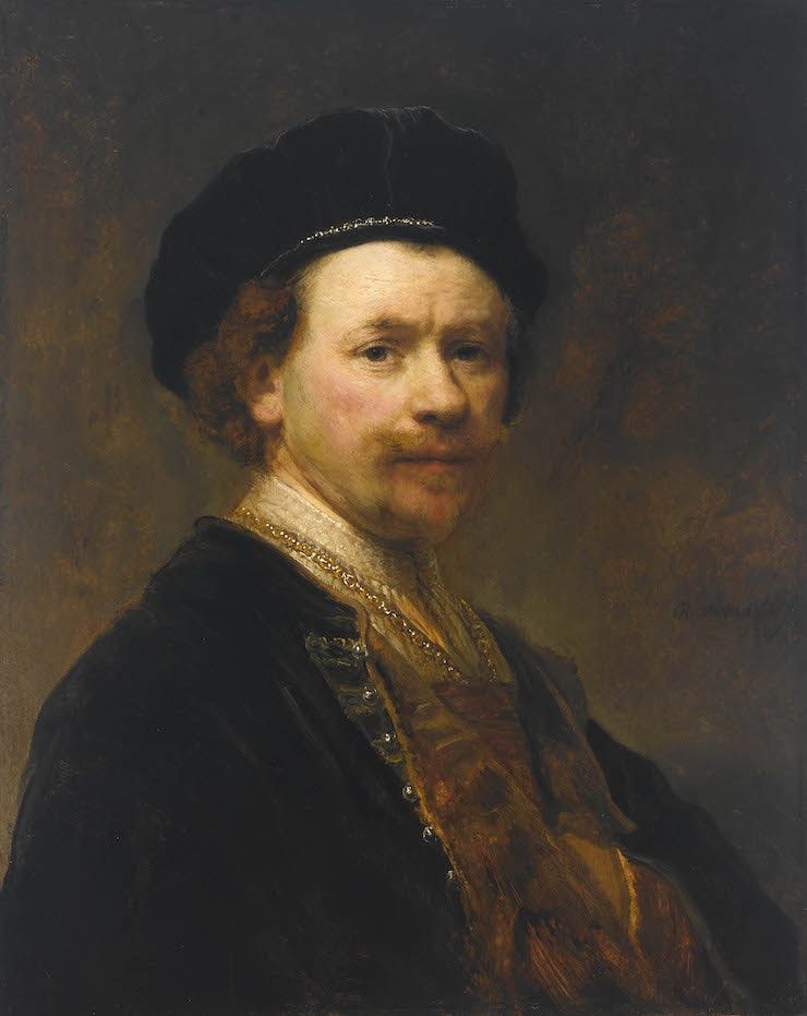 Four portraits by Rembrandt speak volumes about the artist.
