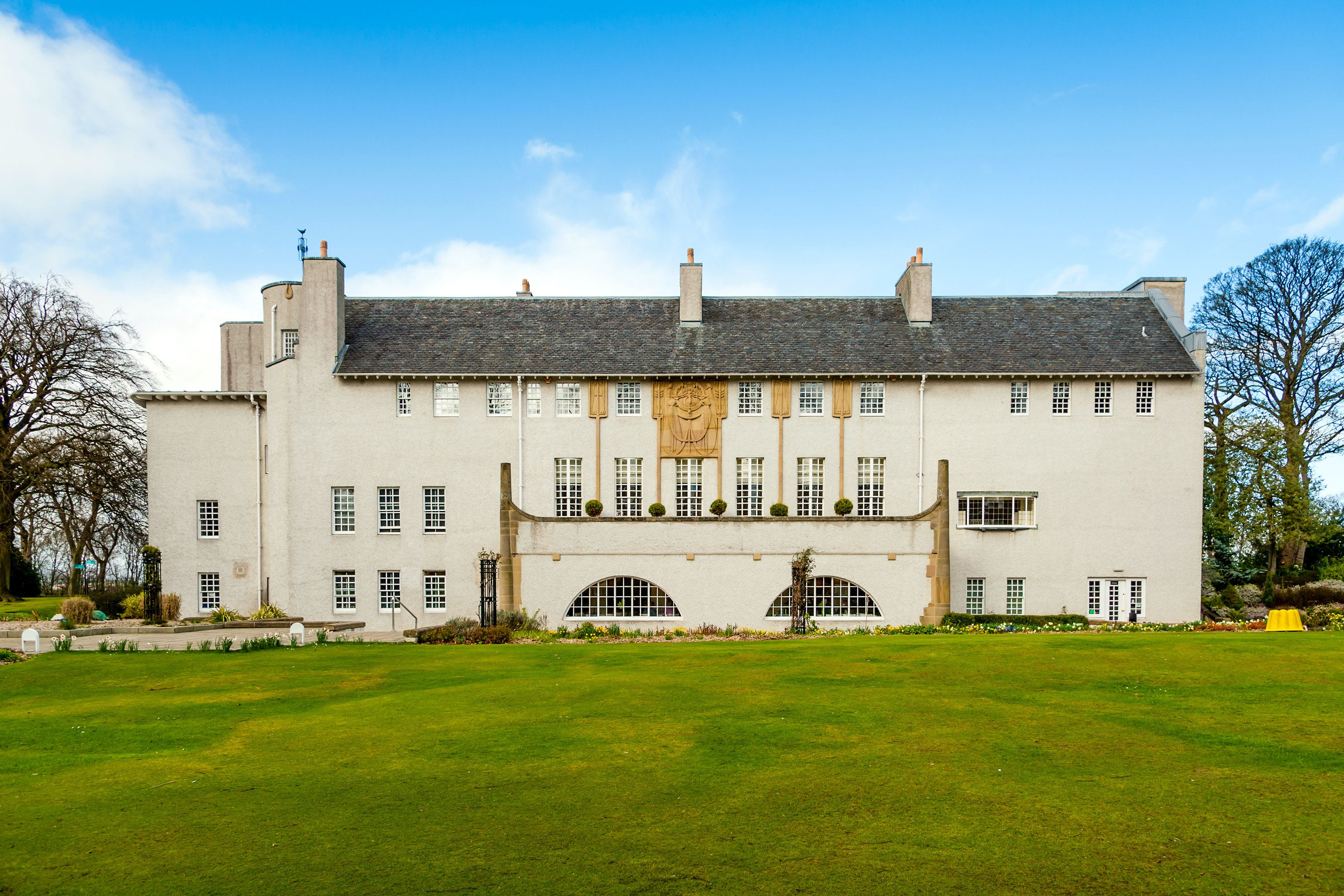 """The Mackintosh House is a perfect example of the scaled back """"Glasgow style"""" of art nouveau design."""