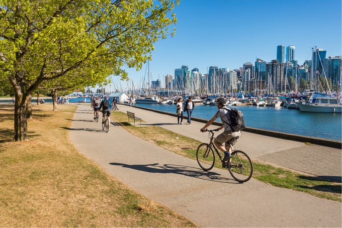 Vancouver is one of two North American cities on the list.