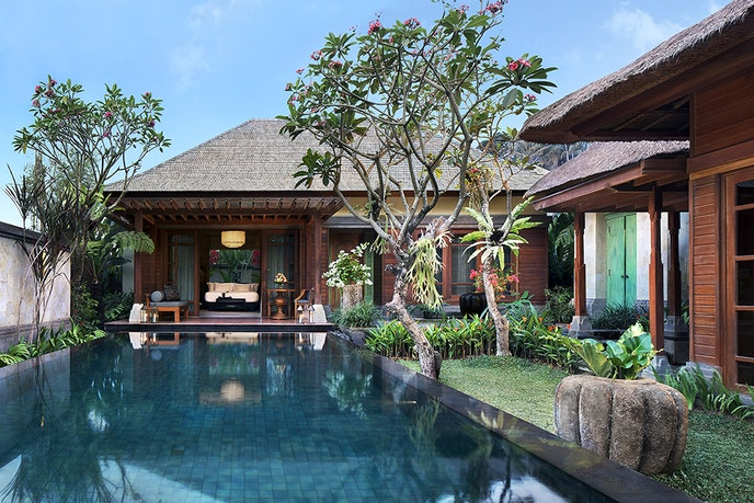 Experience traditional Balinese healing techniques at Mandapa, a Ritz-Carlton Reserve.