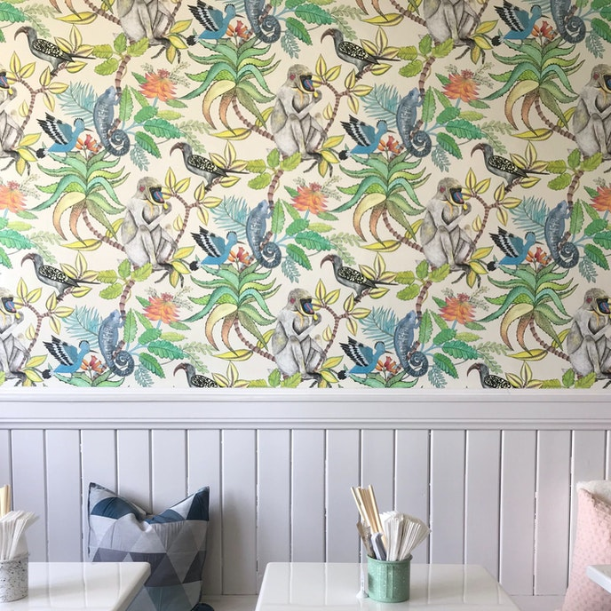 The unexpectedly tropical decor is just as good as the food at the Phoenix and the Dragon.
