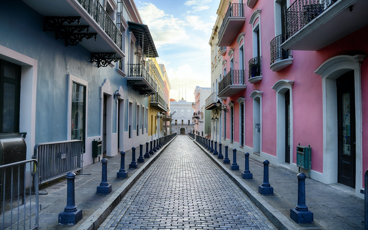 Many parts of Puerto Rico are still struggling to recover, but things are picture-perfect in Old San Juan.