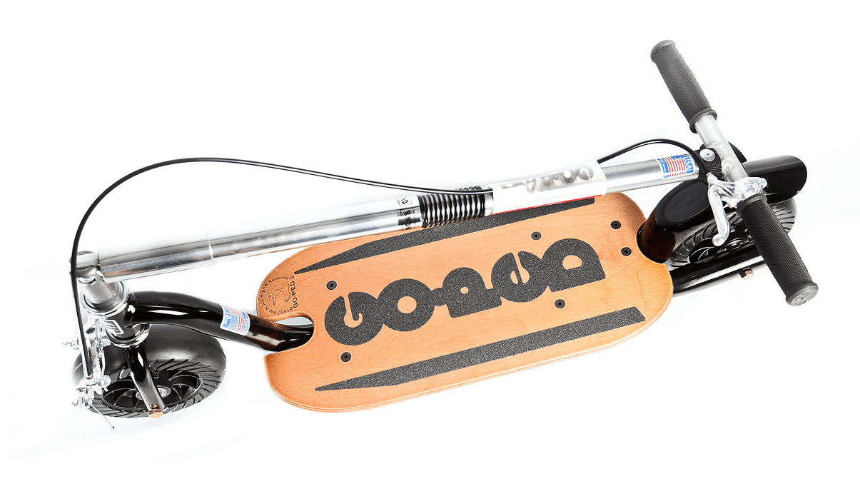 The Know Ped scooter, folded