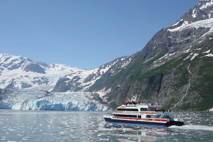 Prince William Sound is a wonderland of glaciers.