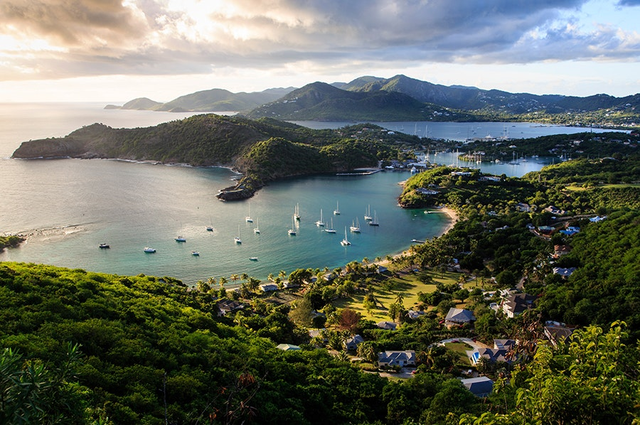 Antigua's moderate temperatures and steady wind patterns make the island ideal for myriad water activities.