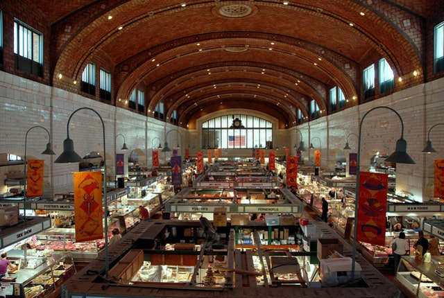 West Side Market in Cleveland, Ohio