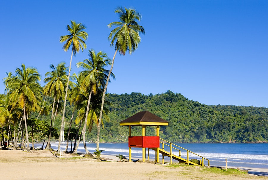 Trinidad & Tobago are lined with vibrant beaches and coral reefs worth exploring.