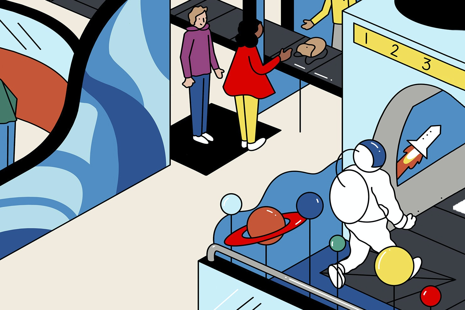 In the future, some airports plan to double as spaceports.
