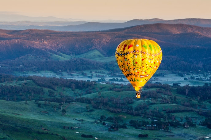 Australia's Yarra Valley produces high-quality chardonnay, pinot noir, and sparkling wine.