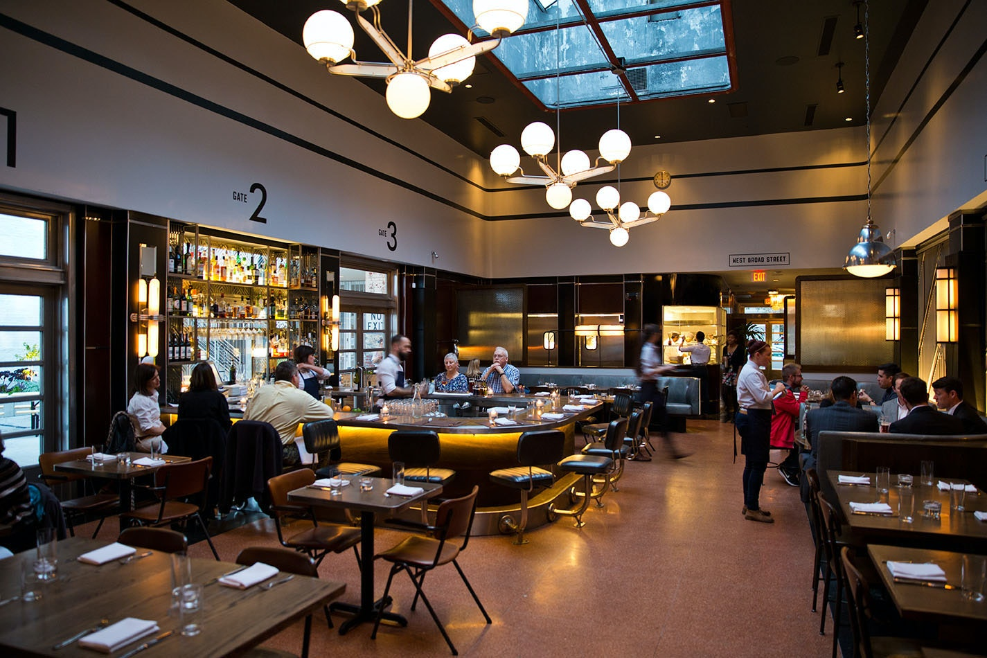 The Grey, a former bus terminal, serves Southern flavors on the plate and industrial elements in its design.