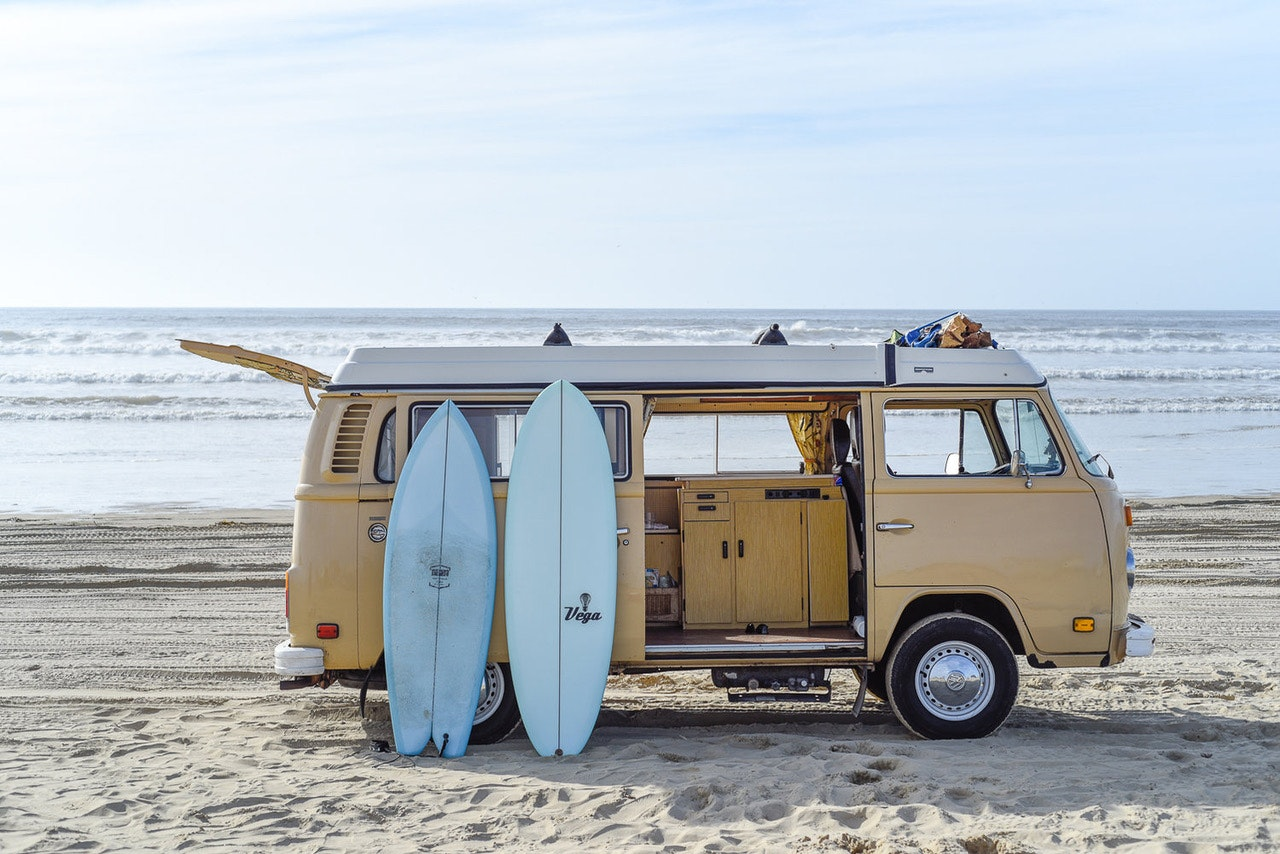 Vintage Surfari Wagons has plenty of vintage Southern California vibes.