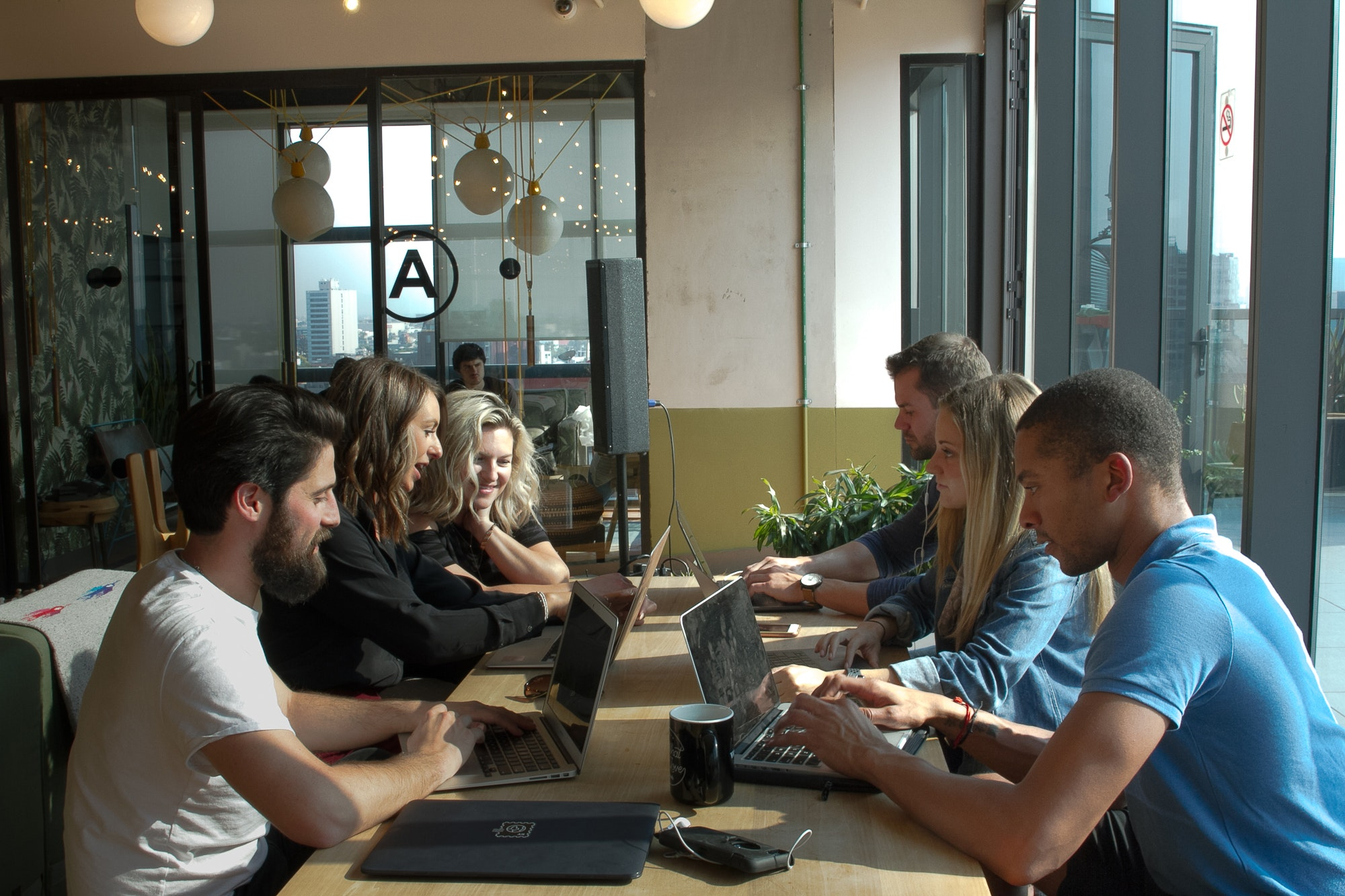 Coworking spaces don't just provide reliable internet—they're also great places to make other types of connections.