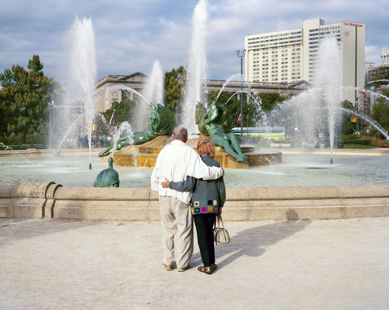 Philadelphia locals Seymour Seclow and Bernice Davis Katz, both 92 years old, have been a couple for one year.