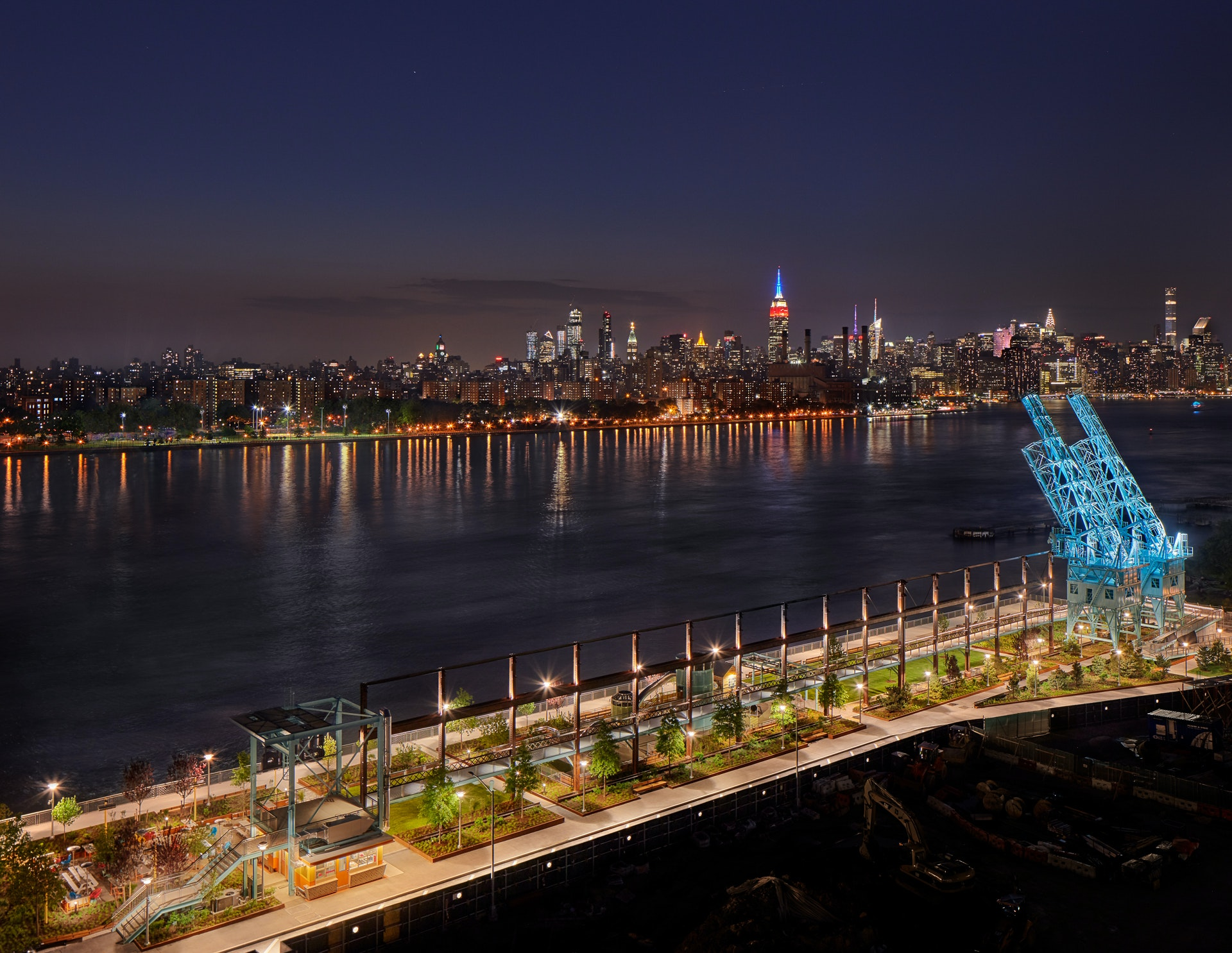 Domino Park opens to the public on Sunday, June 10.